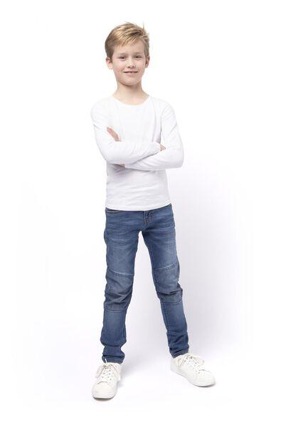 Kinder-Jogdenim, Regular Fit mittelblau mittelblau - 1000017876 - HEMA