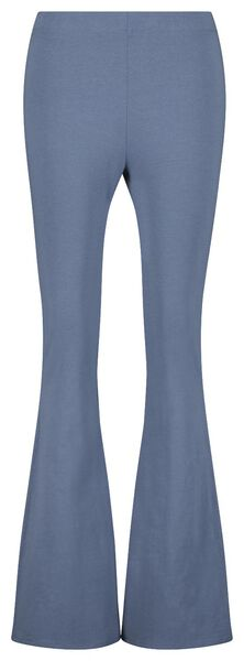 Hosen - HEMA Damen Hose, Biobaumwolle Blau  - Onlineshop HEMA