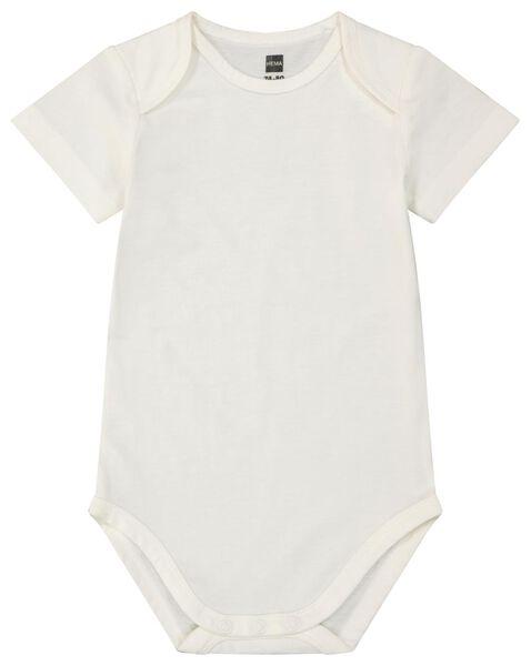 Baby-Body, Biobaumwolle weiß weiß - 1000024199 - HEMA