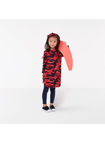 robe enfant - Bananas&Bananas rouge rouge - 1000016536 - HEMA