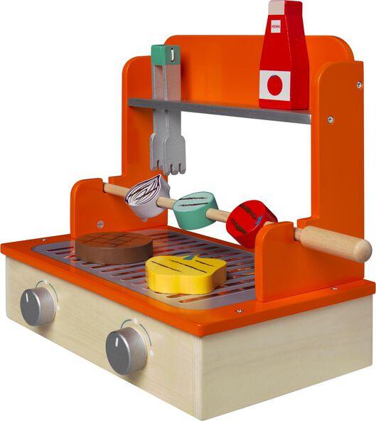 barbecue en bois 20x30x30 - 15810056 - HEMA