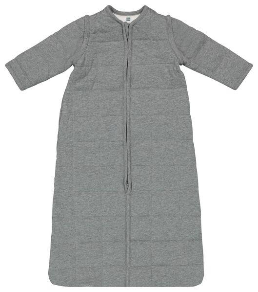Baby-Schlafsack mit abnehmbaren Ärmeln, gepolstert, grau grau - 1000019999 - HEMA