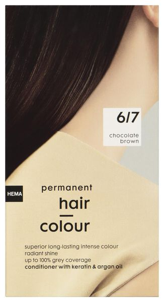 hair dye chocolate brown 6/7 - 11050031 - hema