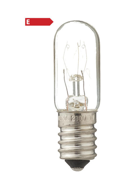 incandescent lamp 7W - 21 lm - clear - 20001127 - hema
