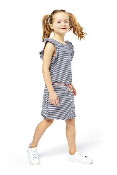children's dress dark blue dark blue - 1000018986 - hema