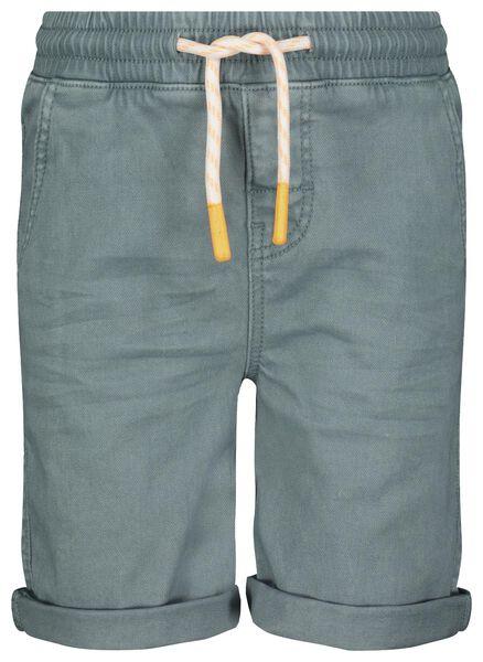 Kinder-Shorts meergrün meergrün - 1000023890 - HEMA