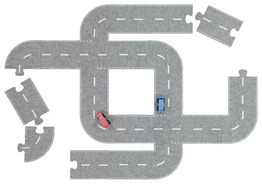 autoweg puzzel - 27 stuks - 15100061 - HEMA