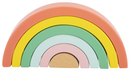 Holz-Regenbogen, 9.5 x 18.5 cm - 15130102 - HEMA