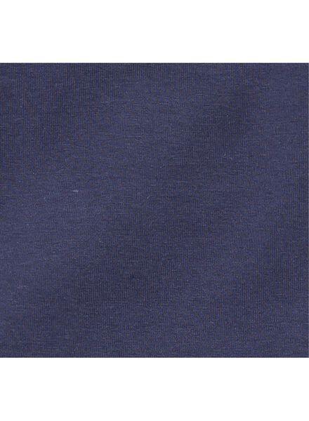 children´s T-shirt - organic cotton dark blue dark blue - 1000006882 - hema