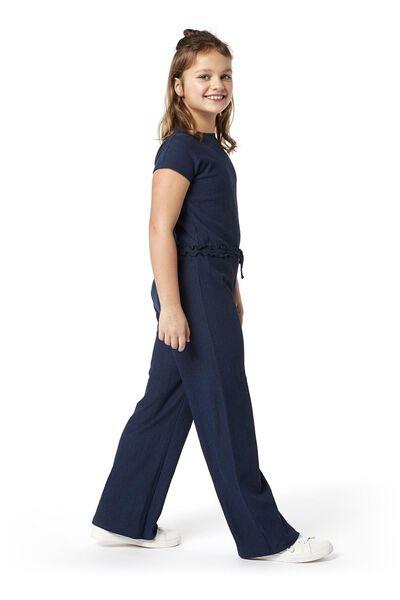 children's jumpsuit dark blue dark blue - 1000019043 - hema