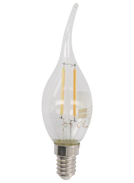 LED-Kerzenlampe, 40 W, 470 lm, klar - 20020023 - HEMA