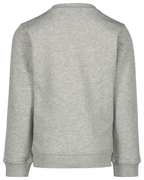 Kinder-Sweatshirt, Rocky Mountains graumeliert graumeliert - 1000021062 - HEMA