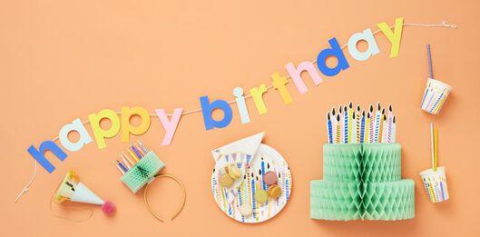 bougies d'anniversaire - 14280155 - HEMA
