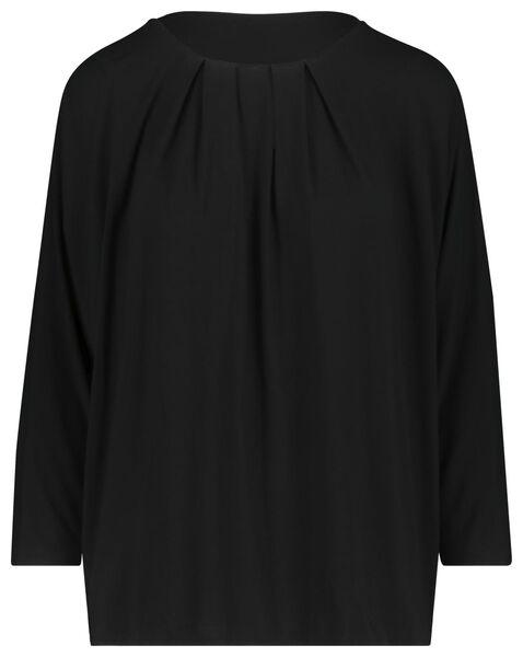 women's top black black - 1000019477 - hema