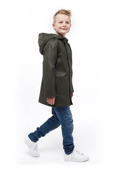 children's jacket with a hood green green - 1000017683 - hema