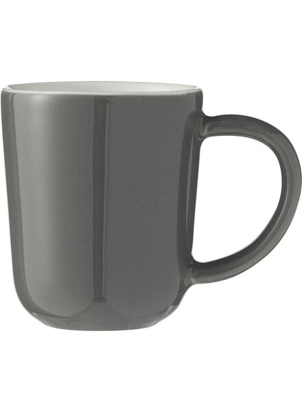 mug espresso Chicago 80 ml gris - 9680050 - HEMA