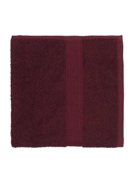 towel - 50 x 100 cm - heavy quality - bordeaux dark red towel 50 x 100 - 5220004 - hema