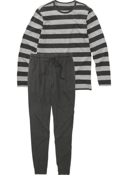 men's pyjamas grey grey - 1000012582 - hema