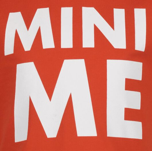 Kinder-T-Shirt Mini-Me orange orange - 1000019293 - HEMA