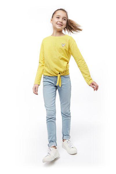 Kinder-Skinnyjeans jeansfarben jeansfarben - 1000018056 - HEMA