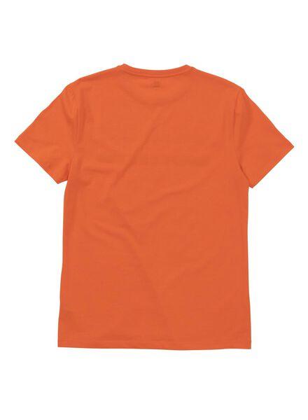 men's T-shirt orange orange - 1000005958 - hema