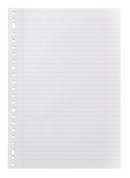papier à classeur ligné - 14130052 - HEMA