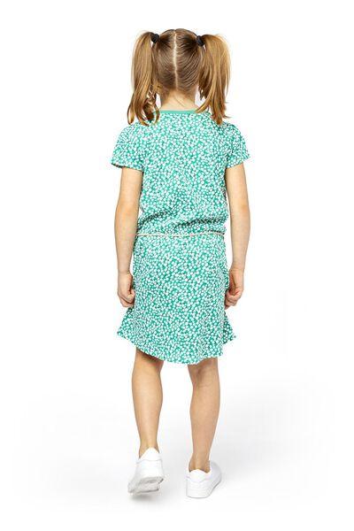 Kinder-Kleid grün grün - 1000018983 - HEMA