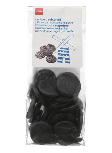 pièces de réglisse Old Dutch - sans sucre 130 grammes - 10500015 - HEMA