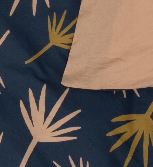 duvet cover - soft cotton dark blue dark blue - 1000018687 - hema