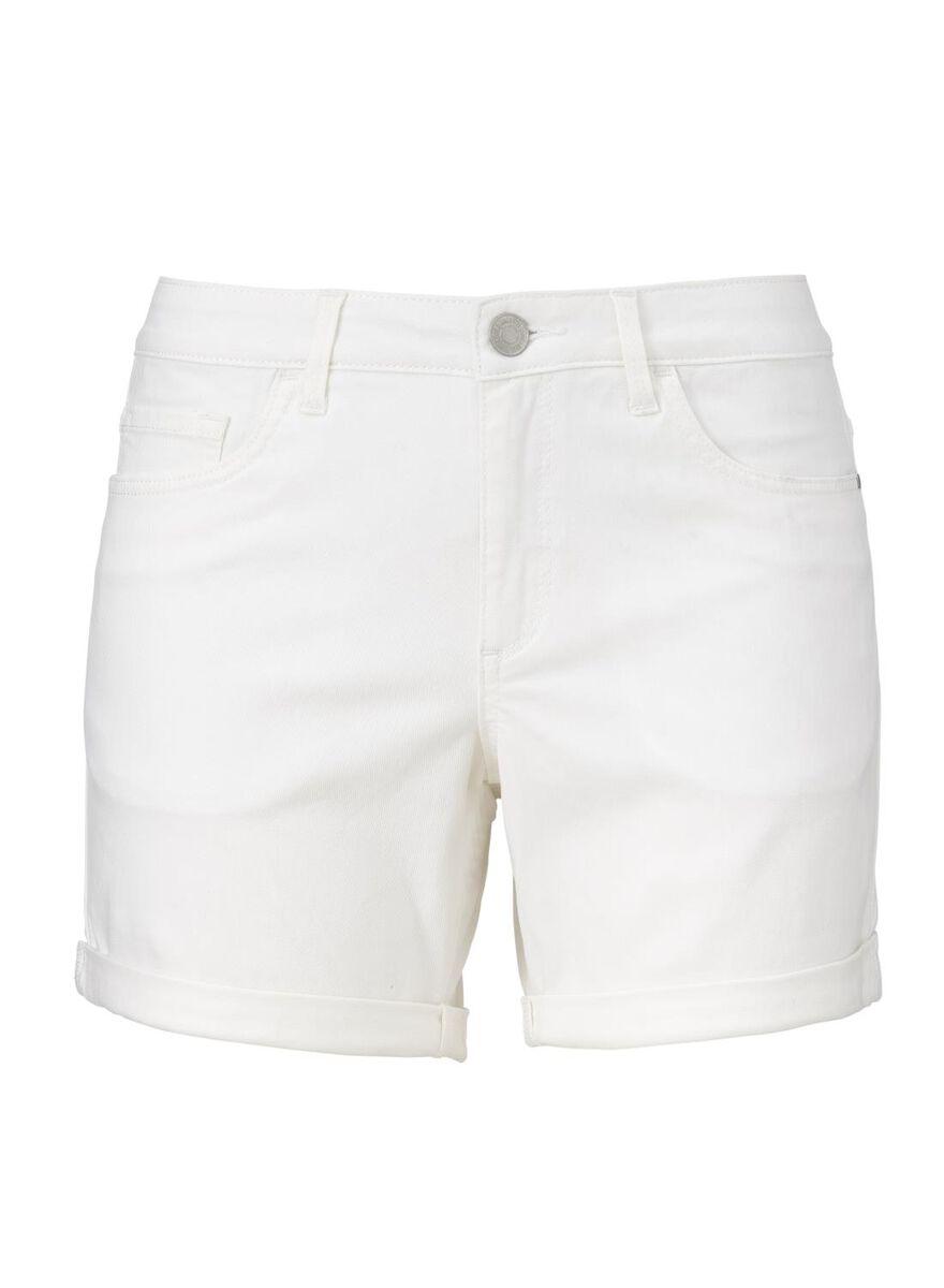 Korte Broek Dames Jeans.Dames Korte Broek Wit Hema