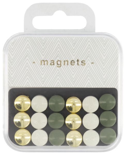 mini magneten - 18 stuks - 14474792 - HEMA