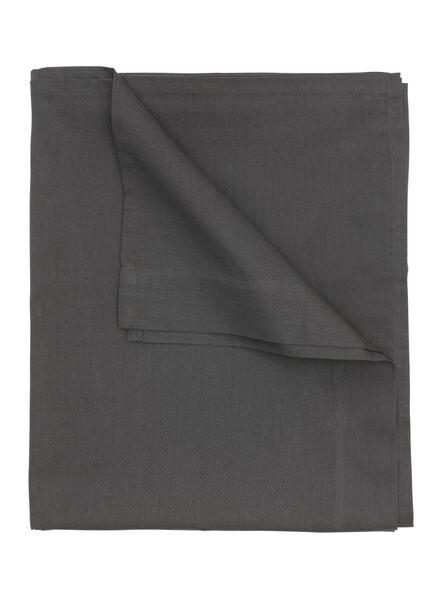 sheet - 150 x 255 - soft cotton - dark grey - 5100025 - hema