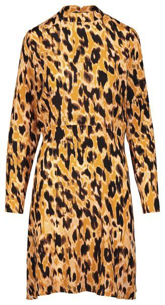 women's dress yellow ochre yellow ochre - 1000017990 - hema