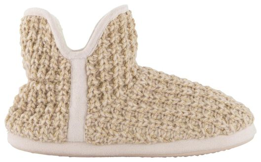 pantoufles femme tricot rose rose - 1000020586 - HEMA