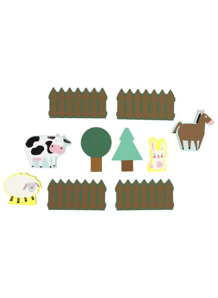 Holzfiguren Bauernhof - 15190244 - HEMA