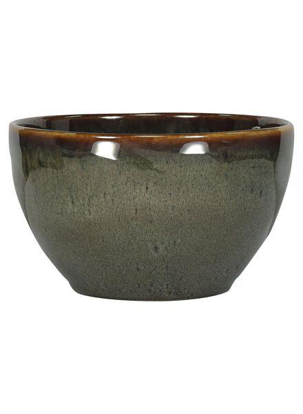 bowl - 14 cm - Porto - reactive glaze - taupe - 9602053 - hema