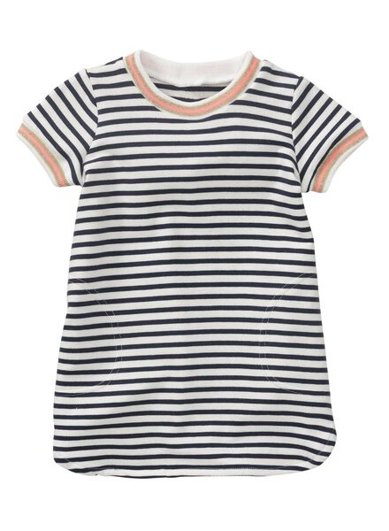 Babykleiderroecke - HEMA Baby Sweatkleid Blau - Onlineshop HEMA