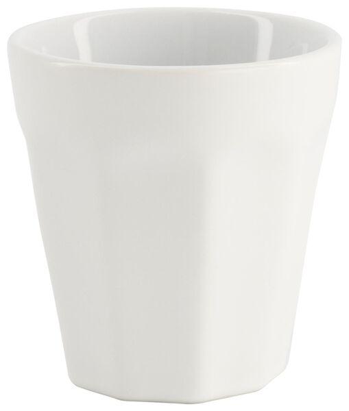 mug - 90 ml - Mirabeau matt - white - 9602200 - hema