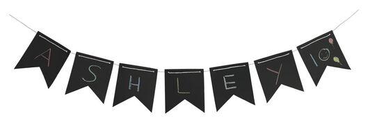bunting 5 metres blackboard - 14200036 - hema