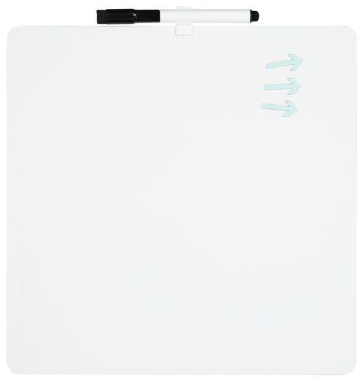 tableau blanc semainier 29.2 x 29.2 - 14822217 - HEMA