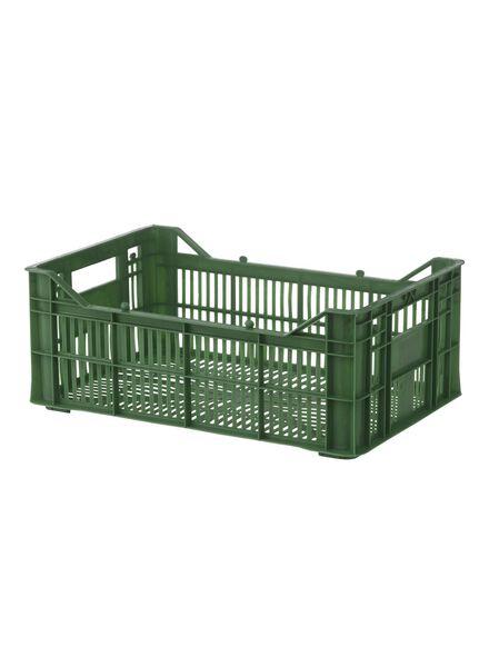 Ordnungsbox, 30 x 20 x 11 cm – grün - 39891044 - HEMA