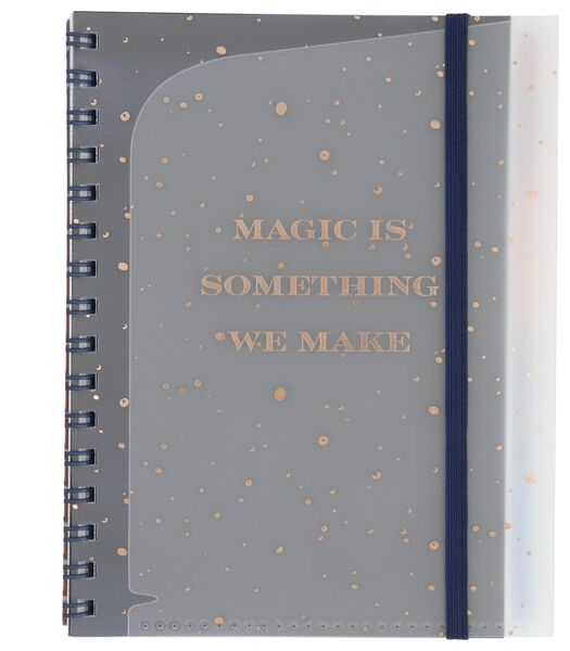 4-in-1 lecture notebook A5 - French-ruled (Seyès) - 14126705 - hema