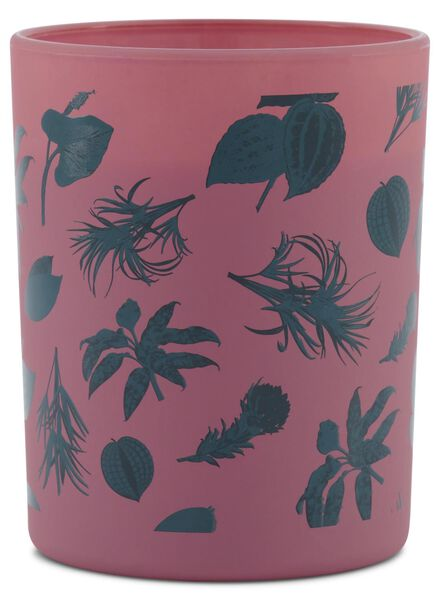 candle vase - Ø 7 cm - pink - 13502407 - hema