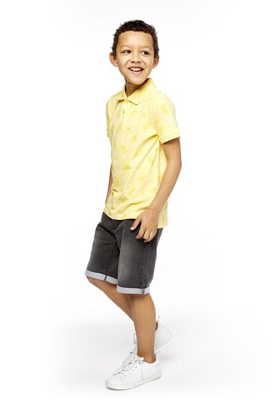 children's polo shirt yellow yellow - 1000018905 - hema