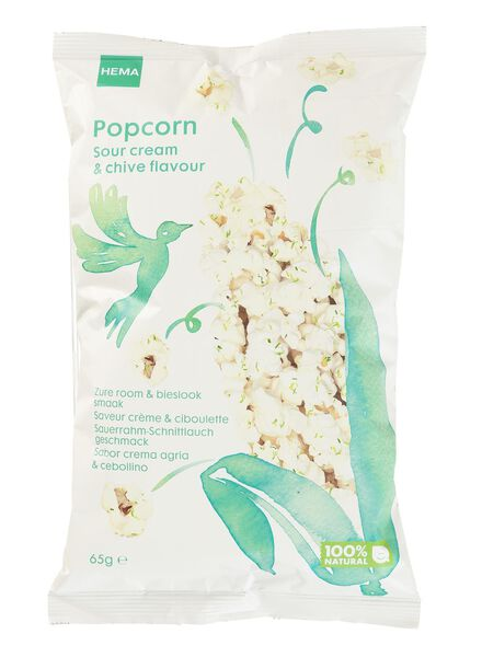 popcorn crème & ciboulette - 10661136 - HEMA