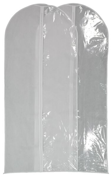 Image of HEMA 2 Clothing Covers - White (white)
