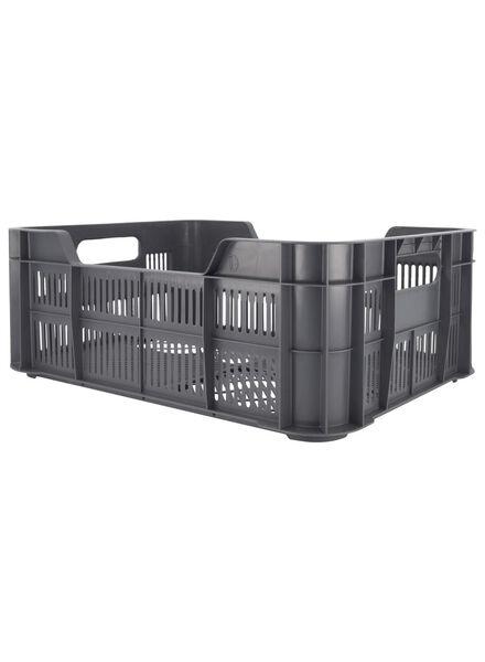 caisse 41 x 31 x 15 - plastique recyclé - anthracite - 39892918 - HEMA