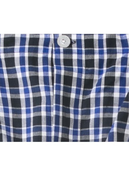Herren-Flanellpyjama dunkelblau dunkelblau - 1000013580 - HEMA