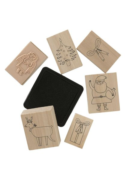 stamp set - 25300211 - hema