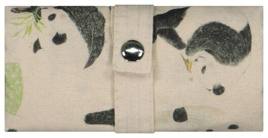 sac pliant toile 40x36 panda - 61133303 - HEMA
